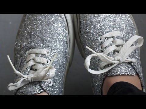 5acee74e9554 DIY  Glitter Shoes REVAMP YOUR OLD SHOES! - YouTube