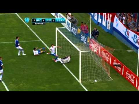 Incisive GOAL as Nacional equalise against Juventud in Uruguayan Primera Division!