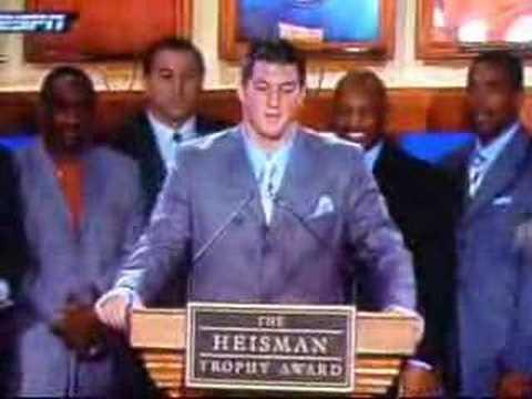 Tim Tebow Heisman Winner 2007