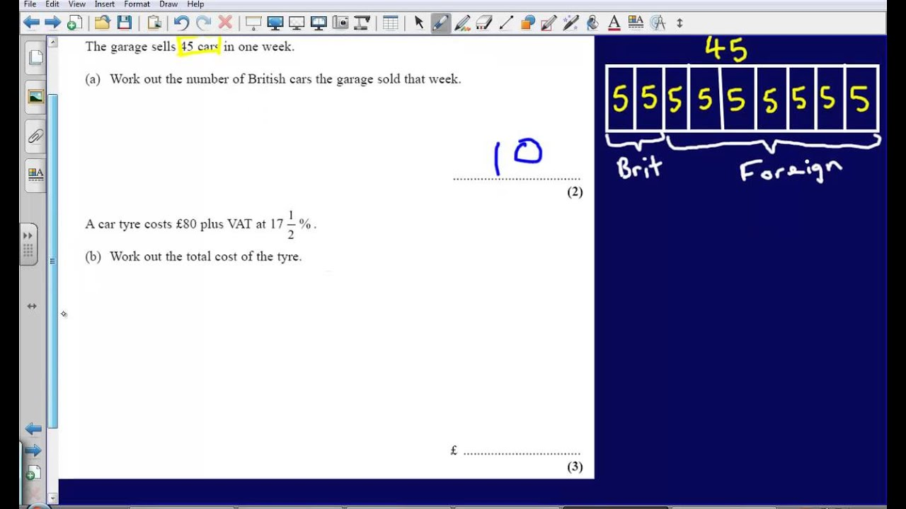 Ratio and percentages question 10 2008 edexcel gcse maths ratio and percentages question 10 2008 edexcel gcse maths calculator paper solution youtube robcynllc Images