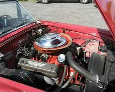 1955 Ford Thunderbird 292 Y-Block V8