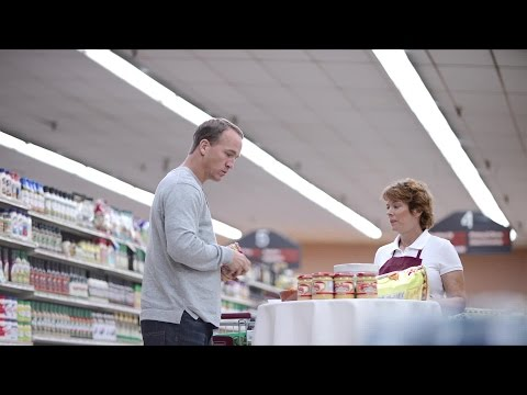 Peyton Manning's new Nationwide ad features the 'jingle' again abnd chicken parm
