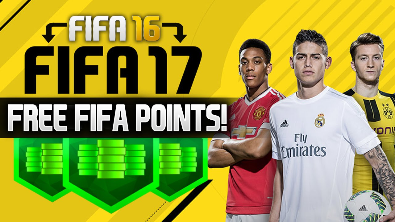free fifa 17 points