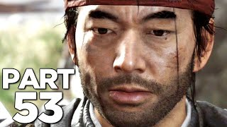 THE GHOST AND DEMON SENSEI in GHOST OF TSUSHIMA Walkthrough Gameplay Part 53 (PS4 PRO)