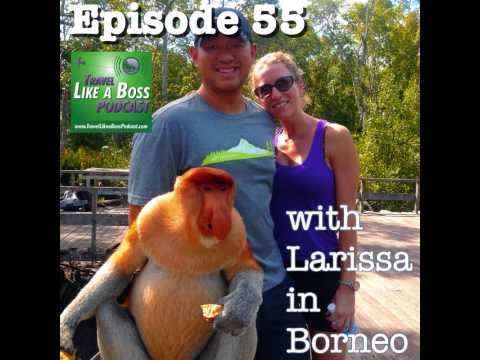 Ep 55 - Borneo with Larissa, introducing the GF, and why you need to go to the jungle.