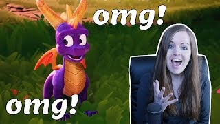 YES IM CRYING!!! | Spyro Reignited Trilogy Trailer reaction! PS4