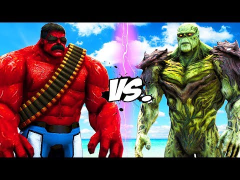 RED HULK VS SWAMP THING (INJUSTICE 2) - EPIC BATTLE