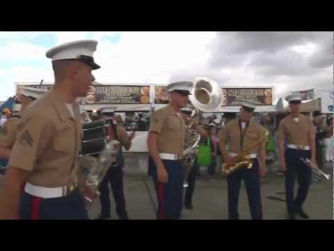3rd MAW Band Entertains at Air