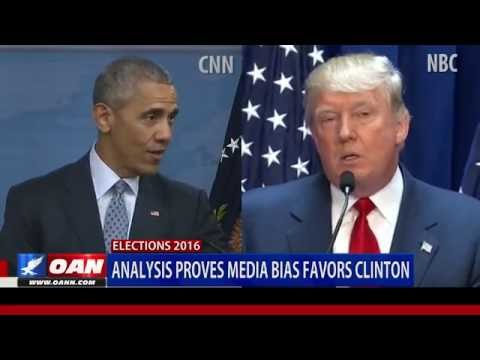 Analysis Proves Media Bias Favors Clinton