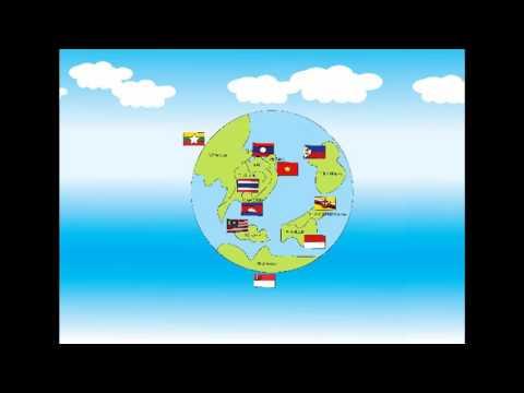 Animation ชุดประจำชาติอาเซียน