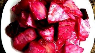 маринованная капуста Пилюска.  Как приготовить вкусную Пилюску