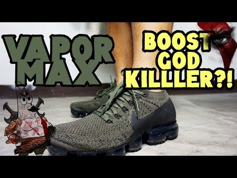 nike-air-vapormax-flyknit-khaki-cargo-review-and-performance-//-boost-god-killer??!!!