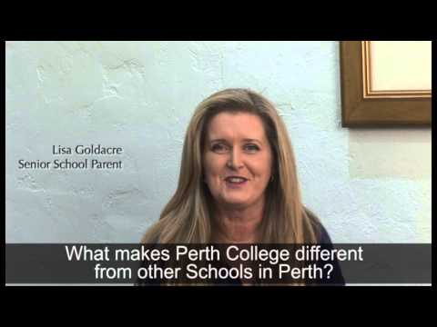 What makes Perth College different from other Schools in Per