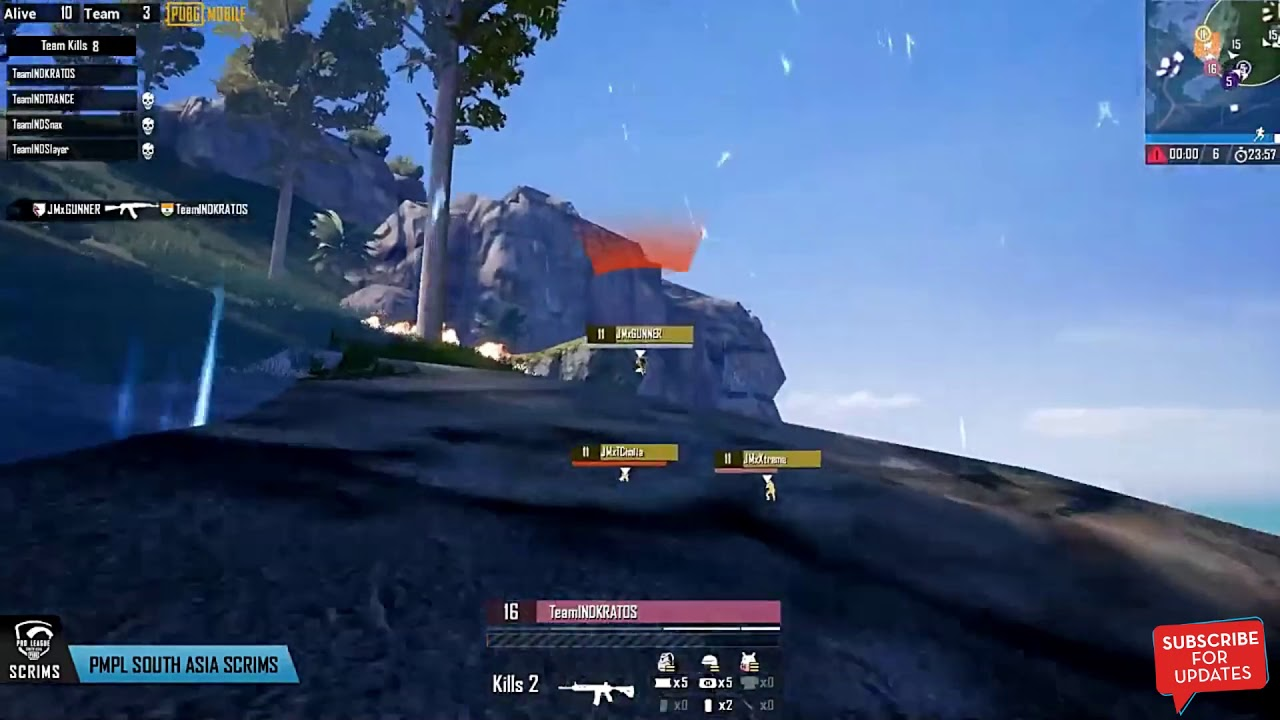 [Highlights] Scout on Fire   Fnatic 11 Kills Chicken Dinner (PMPL South Asia Scrims Match 3)