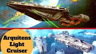 Republic Arquitens-class Light Cruiser / Imperial Command Cruiser - Star Wars Capital Ship Breakdown