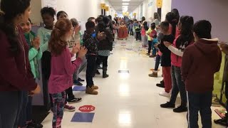 Elementary school throws principal surprise celebration for 50 year anniversary as an educator