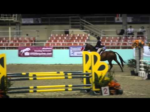 Nina Vogel and Jamestown LAHJA Junior Finals Round 2