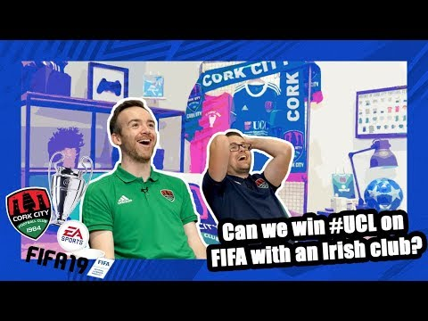 FIFA19 Champions League Road to the Final With An Irish Club Ep1: Group Stages