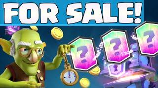 Clash Royale Update ¦ BUY LEGENDARIES! ¦ Gold Bonus!