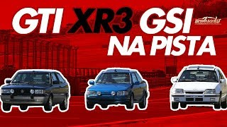 DESAFIO GOL GTi X KADETT GSi X ESCORT XR3 - VOLTA RÁPIDA #6 | ACELERADOS thumbnail