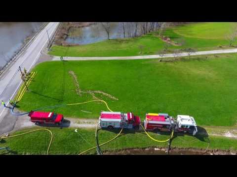 Marlboro Fire Co. (stark co. ohio) tanker shuttle fill site