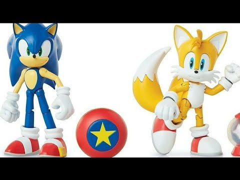 New Jakks Pacific Sonic Articulated Figures Youtube