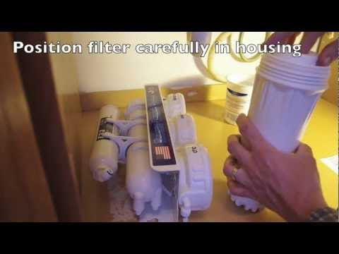 Ispring Reverse Osmosis System Install Youtube