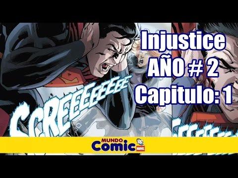 INJUSTICE Año 2 Parte # 1 I Black Canory casi Mata a Superman / CÓMIC NARRADO