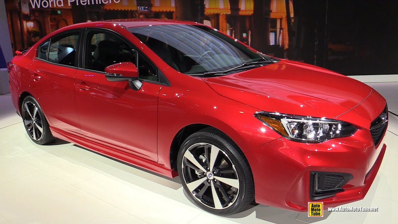 2017 Subaru Impreza Sport Exterior And Interior Walkaround 2016