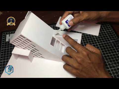 MODEL MAKING OF MODERN ARCHITECTURAL BUILDING # 4