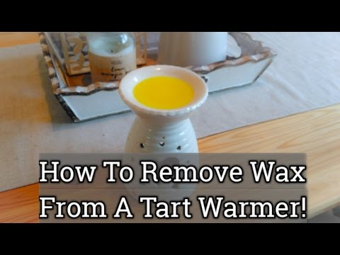 Simple And Easy Way To Remove Wax From A Tart Warmer !!!