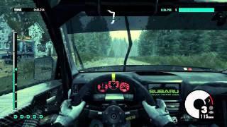 Dirt3 gameplay PC HD Rain racing - maxed out GTX 560 DX11