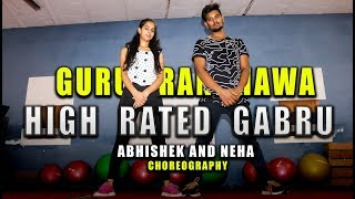 Nawabzaade: High Rated Gabru Dance Choreography | Abhishek and neha Dance | Dance and tutorials