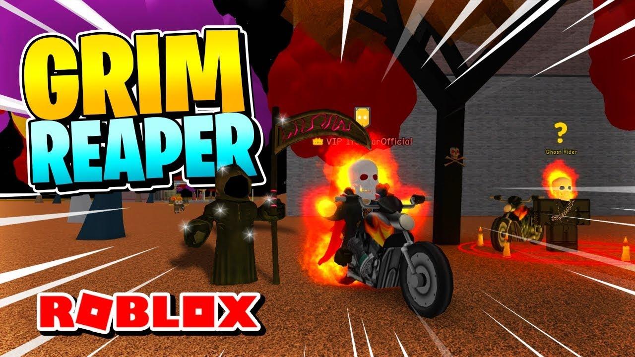 SUPER POWER TRAINING SIMULATOR: GRIM REAPER QUEST & GHOSTRIDER GAMEPASS  REVIEW [Roblox]