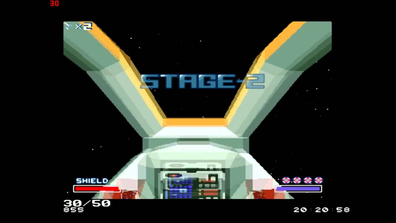Star Fox (1993) - Black Hole & Out Of This Dimension ...