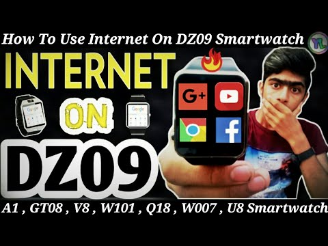 How To Use Internet On DZ09 Smartwatch | Internet Settings On DZ09 Smartwatch | You Look