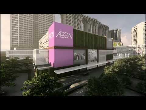aeon-mall-+-apartemen-saffron-centera-dengan-view-perbukitan,-pergunungan-dan-alam-yang-asri.