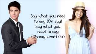 Baixar Glee - Say (Lyrics)