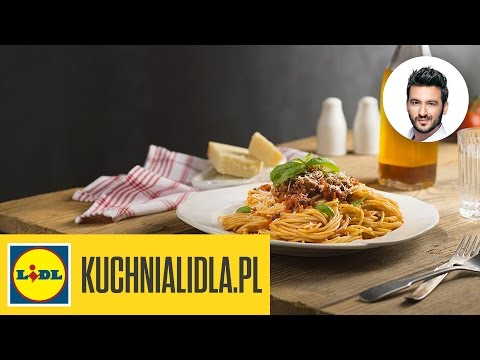 🍝 Spaghetti bolognese  najlepsze! Steo Terrazzino – Przepisy Kuchni Lidla