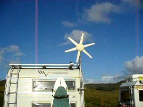 My Motorhome Foldable Windgenerator Youtube
