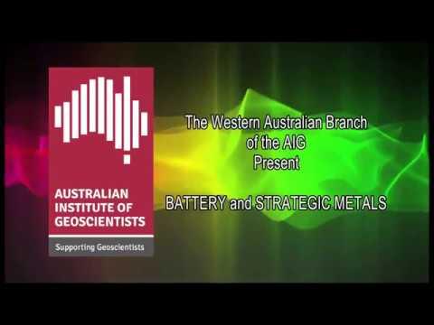 AIG WA Battery & Strategic Metals Seminar: David Crook - Australia's First Pollucite Deposit