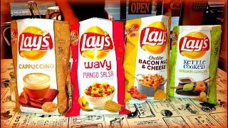 MANGO SALSA CHIPS? Lays Taste Test!