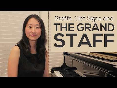 Reading Treble Clef Notes, Bass Clef Notes, and the Grand Staff
