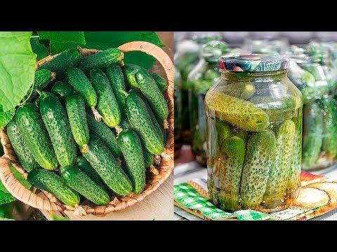 МАРИНОВАННЫЕ ОГУРЦЫ 🥒 Самый Вкусный Рецепт Маринованных Огурчиков!