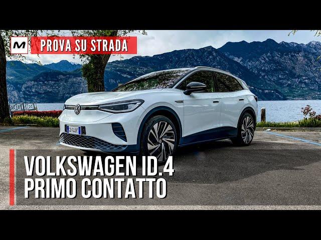 VOLKSWAGEN ID.4 | Prova su strada della nuova elettrica di Wolfsburg
