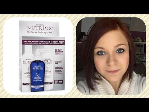 nutri-ox: thinning hair system: kit contre la perte des cheveux