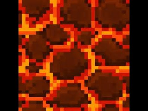 Майнкрафт огненный блок