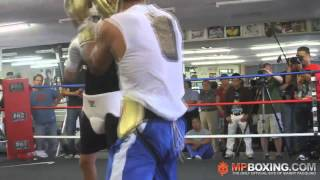 Manny Pacquiao- Intense Sparring