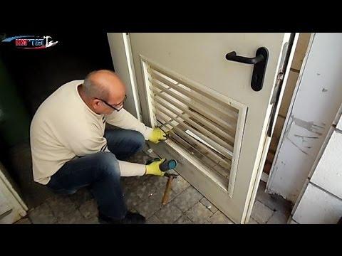 תיקון דלת רפפה בחדר אשפה - הנדימנו תיקונים לבית