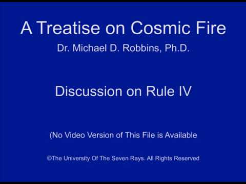 Discussion of Rule IV
